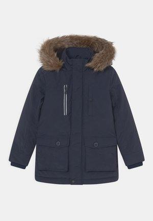 TATIL DETACHABLE HOOD - Winter coat - midnight blue