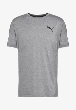 ACTIVE TEE - Basic T-shirt - medium gray heather