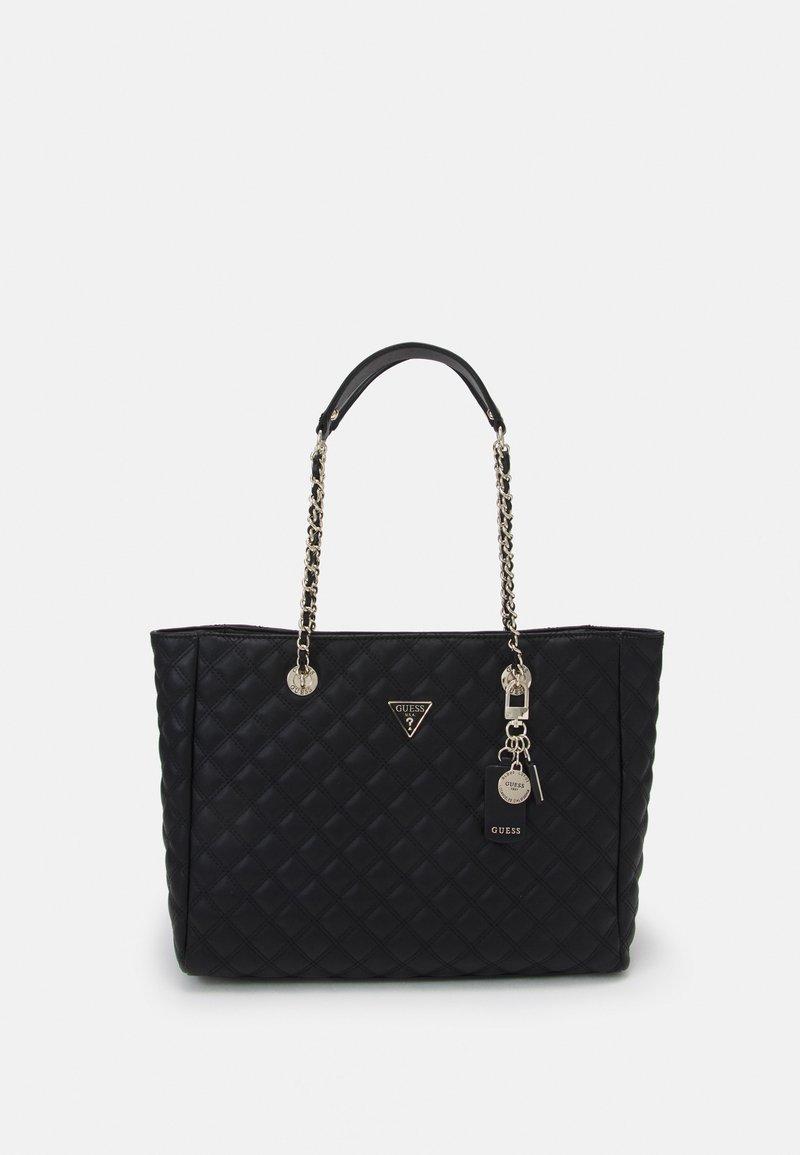 Guess - CESSILY TOTE - Handbag - black