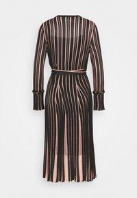 Diane von Furstenberg - EDELINE - Maxi dress - black/pale pink - 7