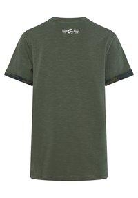 WE Fashion - Print T-shirt - army green - 3