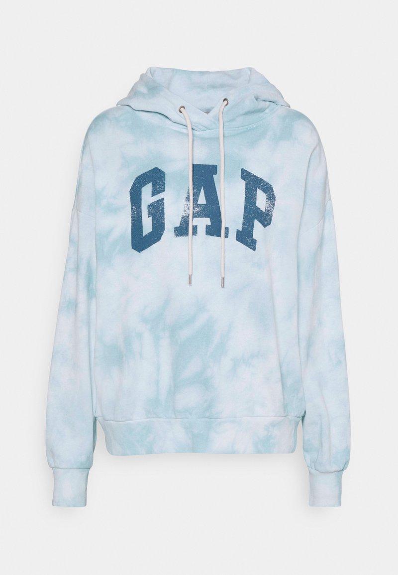 GAP - EASY - Sweatshirt - cloudy blue tie dye