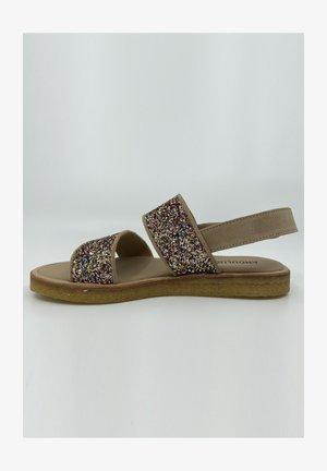 Sandaler - sand/multi glitter