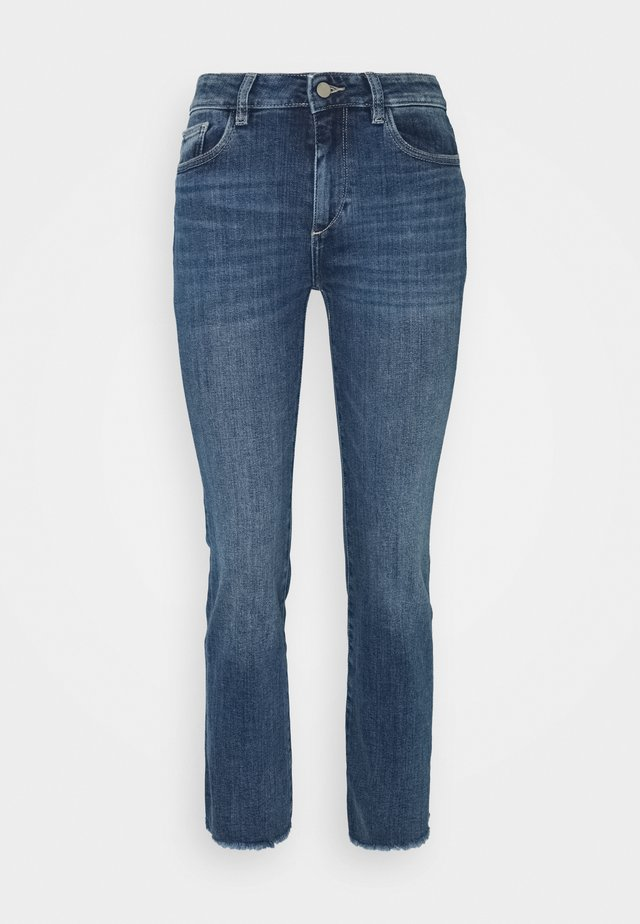 MARA ANKLE MID RISE  - Straight leg jeans - chancery
