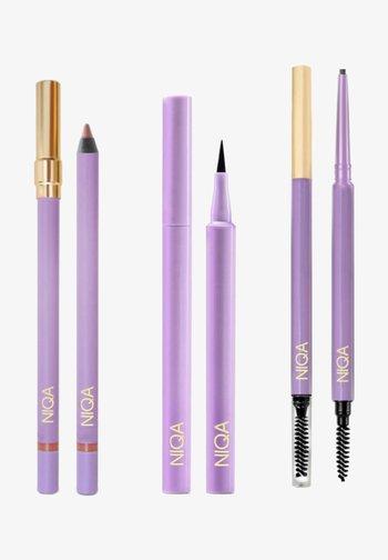 NIQA MATCH SET - Makeup set - schwarz