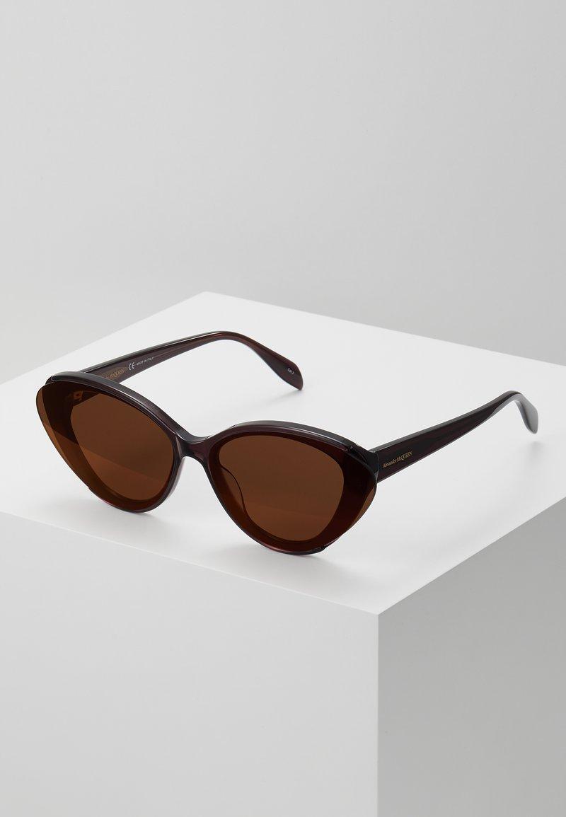 Alexander McQueen - Occhiali da sole - violet/violet/red