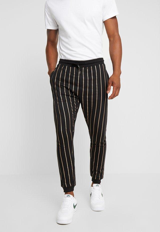 ELMONTE - Pantalon de survêtement - black