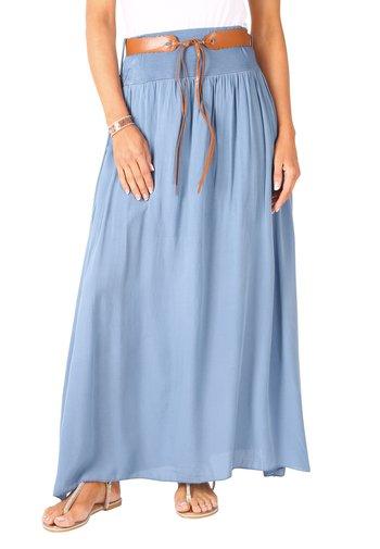 A-line skirt - denim