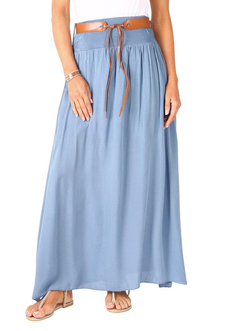KRISP - A-line skirt - denim