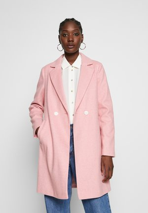 SINGLE BREASTED - Classic coat - pink