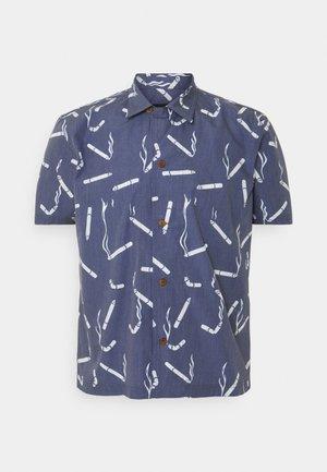HAWAIIAN DANDY CIGARETTE - Košile - navy