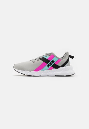 WEAVE XT TWIN - Sports shoes - grey/pink