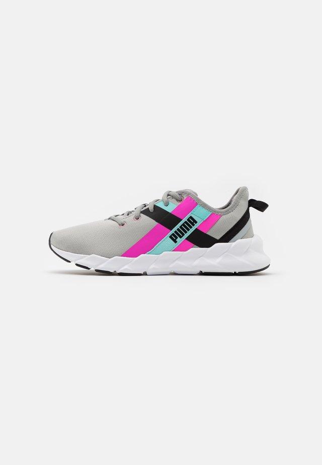WEAVE XT TWIN - Sportovní boty - grey/pink