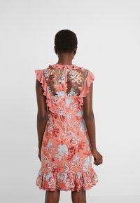 Three Floor - EXCLUSIVE DRESS - Vestido de cóctel - red/multi-coloured - 2