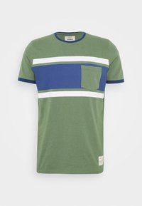 ROY - Print T-shirt - duck green