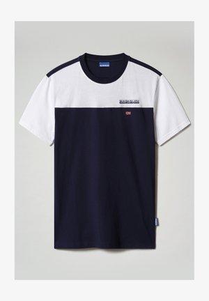 Print T-shirt - medieval blue