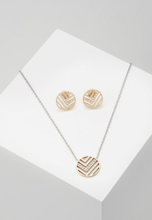 ELIN SET - Earrings - rose gold-coloured/silver-coloured