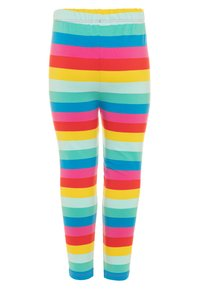 Frugi - ORGANIC COTTON LIBBY RAINBOW STRIPE - Leggings - Trousers - flamingo/multicolor - 1