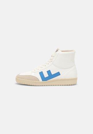 OLD 80S UNISEX - Korkeavartiset tennarit - white/blue