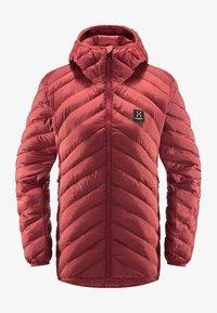 Haglöfs - SÄRNA MIMIC HOOD - Winter jacket - brick red - 5