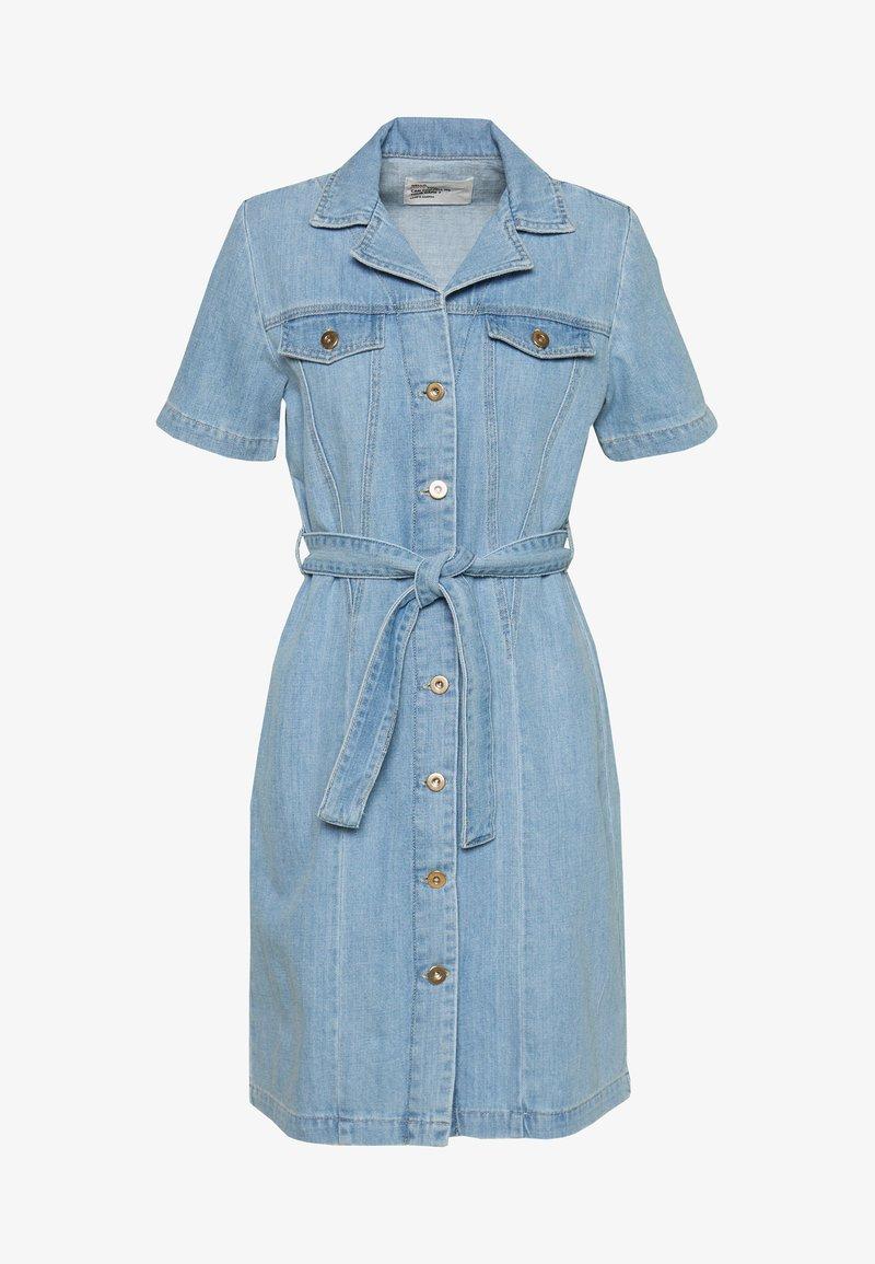 Leon & Harper - REMEMBER BLEACH - Day dress - blue