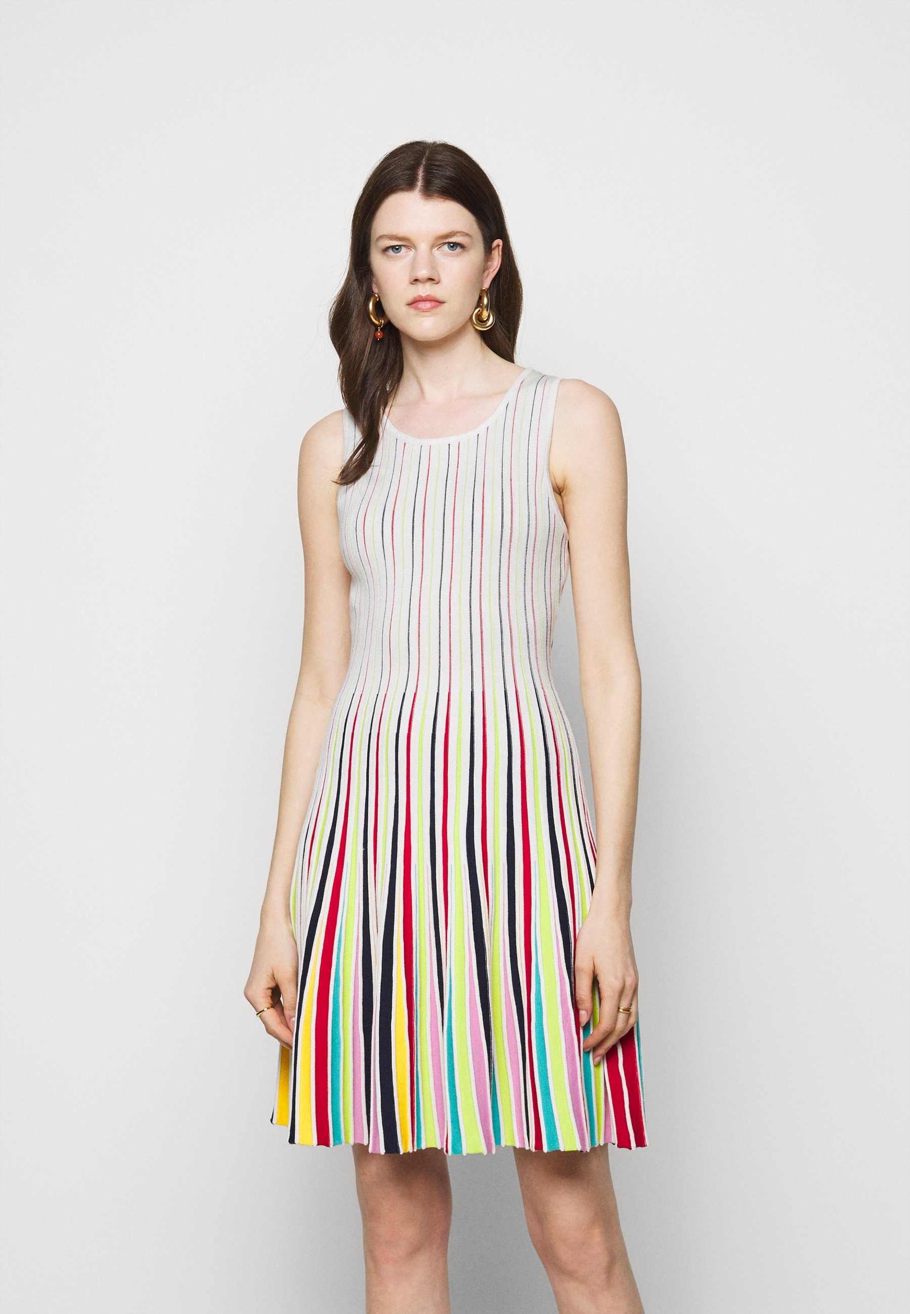 Women GODET STRIPE FIT AND FLARE - Cocktail dress / Party dress