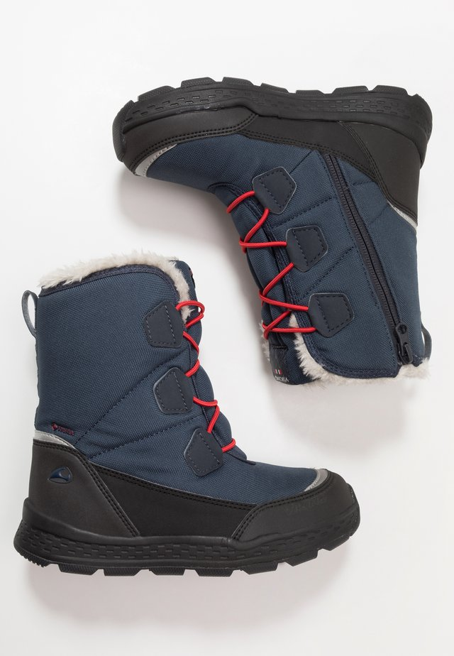 SOLLI GTX - Winter boots - navy/black