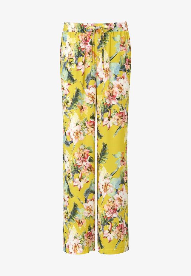 HOSE CORNELIA - Broek - gelb/multicolor