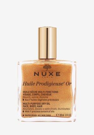 HUILE PRODIGIEUSE® SHIMMERING DRY OIL GOLD - Face oil - -