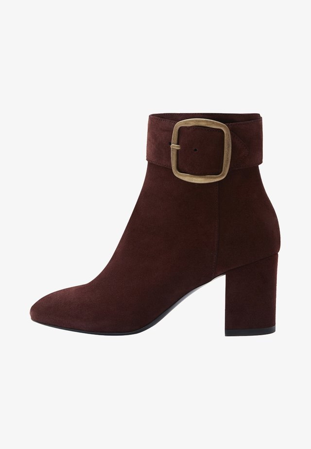 JIL - Bottines - bordeaux