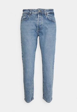 SLHRELAXCROP - Jeans Tapered Fit - light blue denim