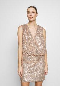 Just Cavalli - DRESS - Cocktail dress / Party dress - gold - 2