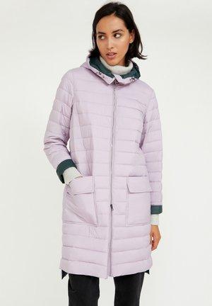 Winter coat - lilac