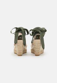 Macarena - CARLA  - Sandály na platformě - nude/crudo - 3