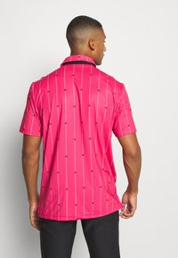 adidas Golf - ULTIMATE SPORTS GOLF SHORT SLEEVE - Funkční triko - power pink/black/grey two