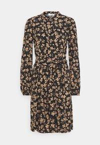 Moss Copenhagen - CALIA DRESS - Skjortekjole - black - 0