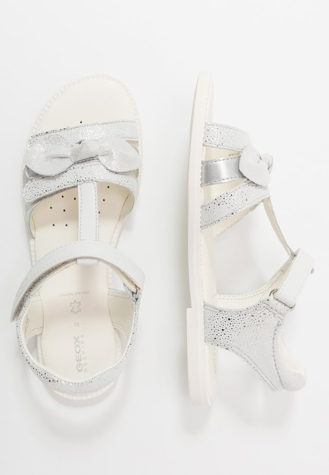KARLY GIRL - Riemensandalette - white