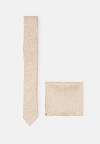 SET - Cravatta - sand