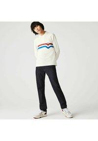 Lacoste - Polo shirt - blanc/rouge/bleu - 1