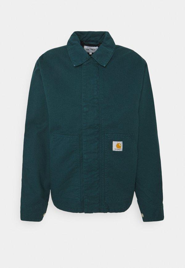 Carhartt WIP ARCAN JACKET - Kurtka jeansowa - deep lagoon/turkusowy Odzież Męska CGMD