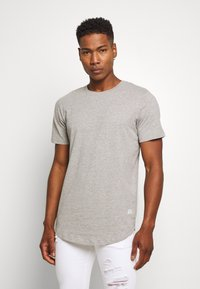 Jack & Jones - ENOA TEE CREW NECK MELANGE 5 PACK - T-shirt basic - olive night/olive/navy/rio - 4