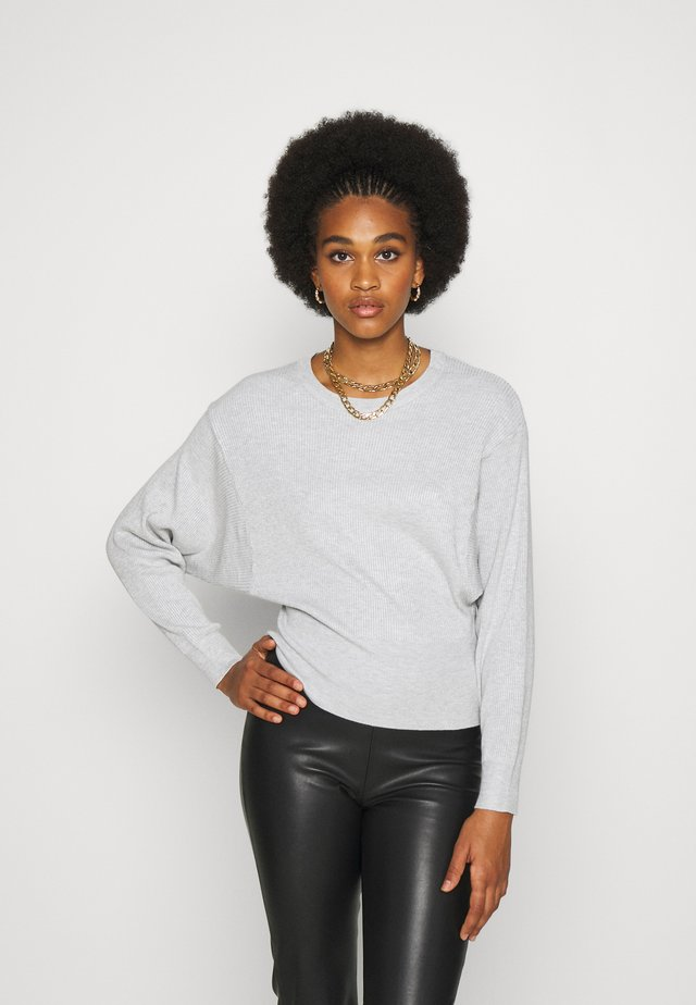 RITA - Sweter - light grey melange