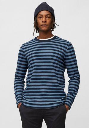 Long sleeved top - multi/kashmir blue