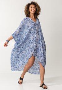 Indiska - PINEAPPLE - Maxi dress - blue - 1