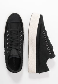 Converse - CHUCK TAYLOR ALL STAR  - Sneakers basse - black/white/natural - 3