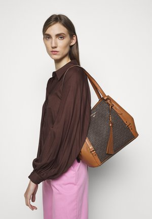 CARRIELG TOTE - Käsilaukku - brown