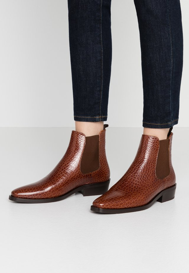 Classic ankle boots - jango brandy