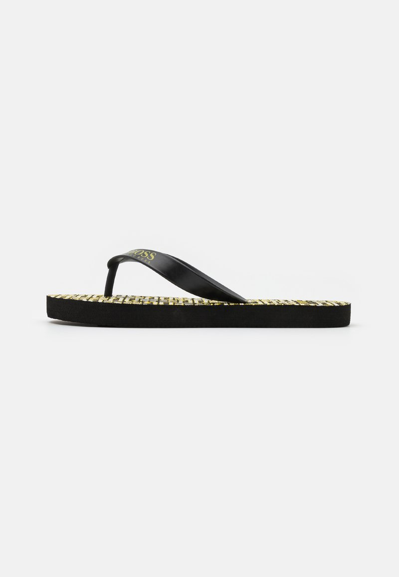 BOSS - T-bar sandals - black