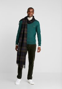 Sisley - Trousers - khaki - 1