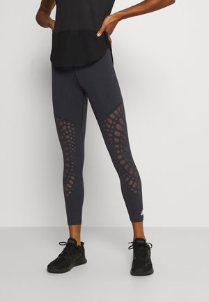 POWER 7/8 - Leggings - black